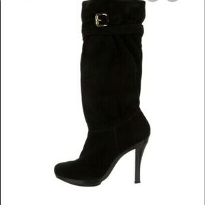Michael Kors Slouch Suede Boots Size 10